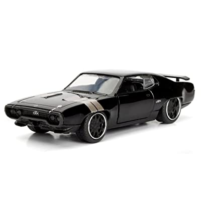Jada Toys 98300 GTX Fast & Furious F8 The Fate of The Furious Movie Model Car: Toys & Games