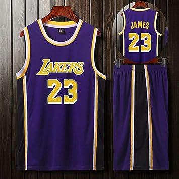 LHDDD NBA Baloncesto Uniformes Lakers James Kobe uniforme de ...