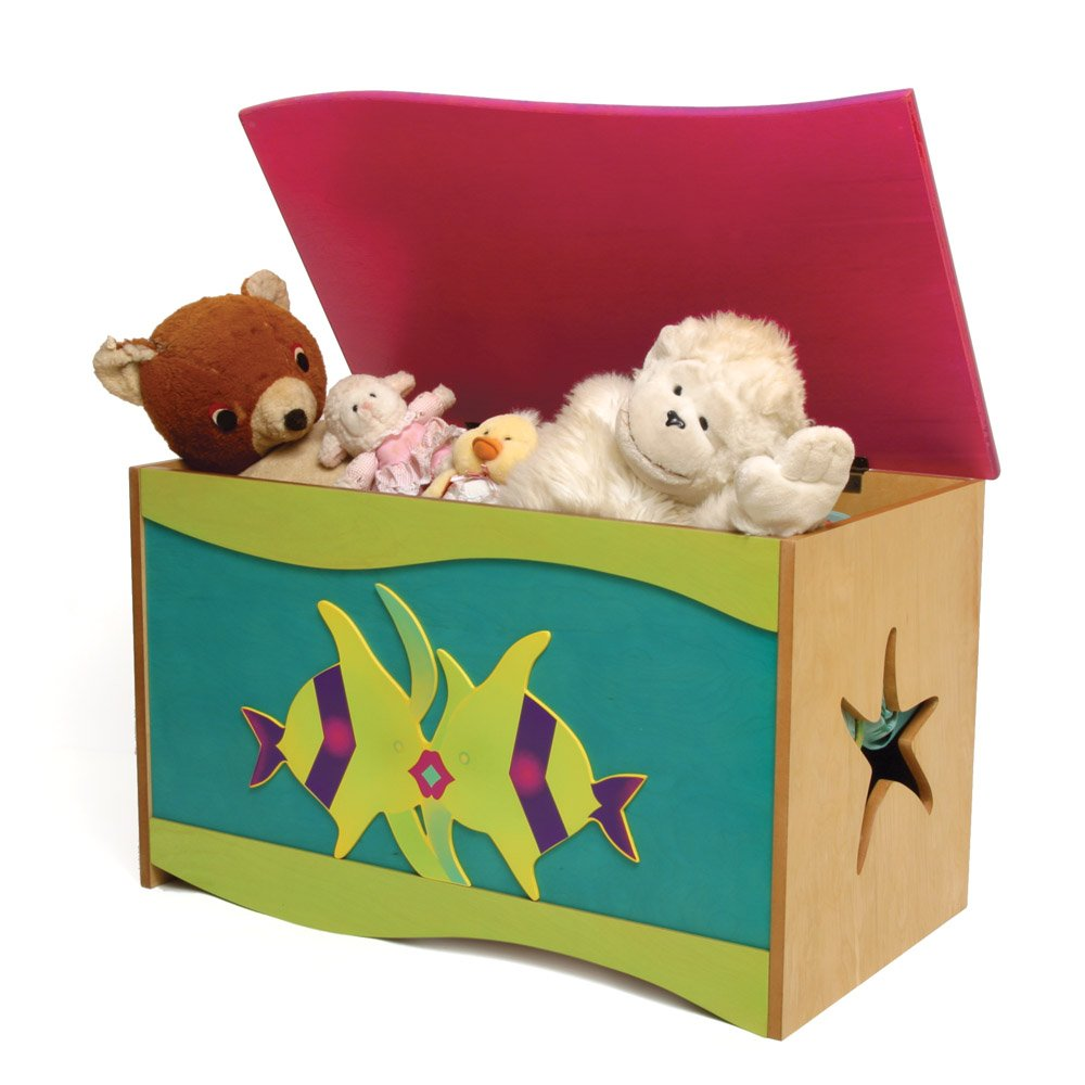 Room Magic RM50-MG Toy Box, Magic Garden