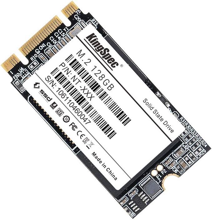 KingSpec 128 GB M.2 SSD 22 * 42 mm MLC SATAIII NGFF Almacenamiento ...