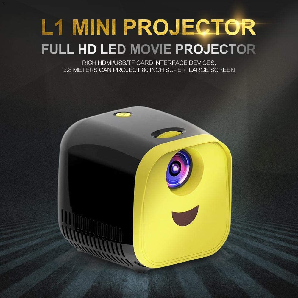 L1 Mini Projector 1080P Full HD LED Proyector de películas ...
