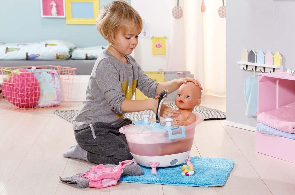 Zapf Creation BABY Born Interactive Bathtub with Foam: Baby Born ...