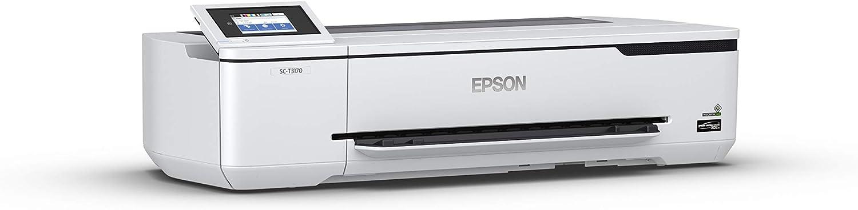 Epson SureColor T3170 - Impresora de Gran Formato (2400 x 1200 dpi, Inyección de Tinta, ESC P,HP-GL/2,HP-RTL, Negro, Cian, Magenta, Amarillo, PrecisionCore, A1 (594 x 841 mm)): Amazon.es: Informática