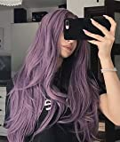 Zenith Halloween Purple Lace Front Wigs with