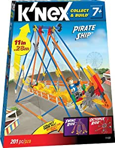 K'NEX Micro Amusement Pirate Ship Building Set