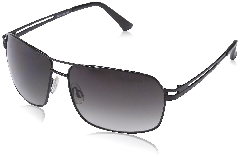 Carlo Monti Herren SCM104-131 Rechteckig Sonnenbrille