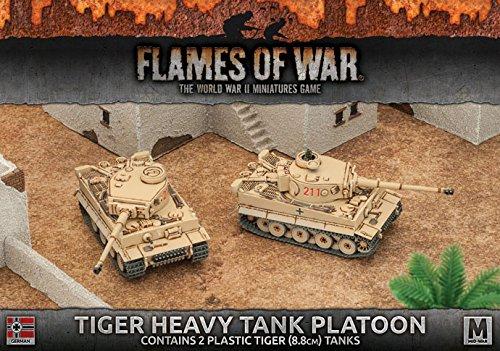 Flames of War Tiger Heavy Tank Platoon German