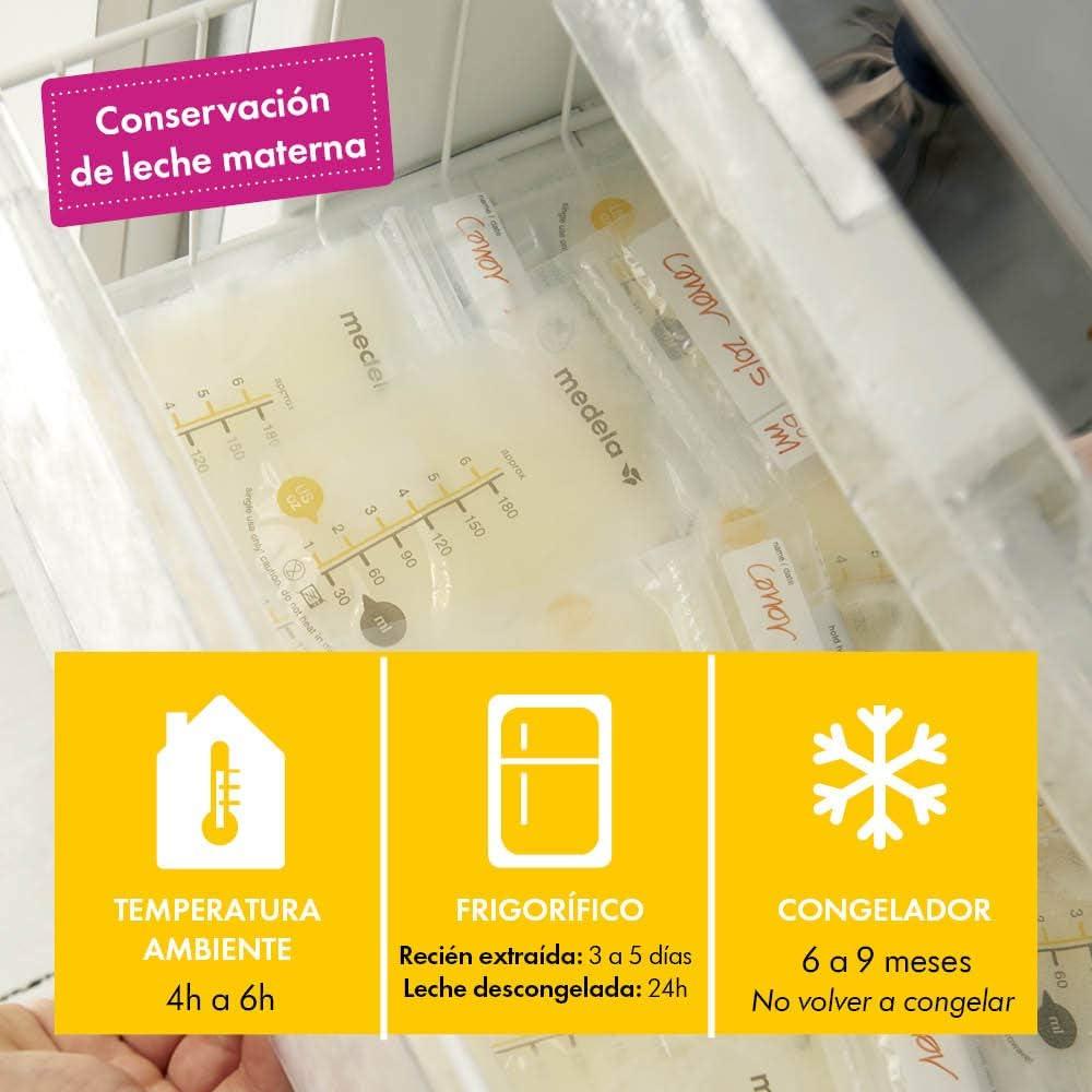 Bolsas de almacenamiento para conservar y congelar leche materna ...