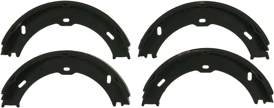 Rear Wagner QuickStop Z773 Parking Brake Shoe Set