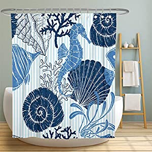 61tGr0gQPtL._SS300_ Beach Shower Curtains & Nautical Shower Curtains