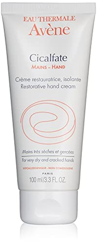Eau Thermale Avene Cicalfate HAND Cream, Intense Nourishing Lotion for Dry Cracked Hands, 3.3 oz.