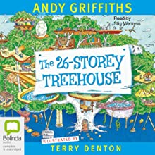 26-Storey Treehouse Audiobook by Andy Griffiths Narrated by Stig Wemyss