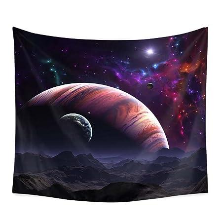PYHQ Universo Planeta Galaxia Tapiz Pared,Hippie Bohemia Art ...
