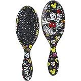 Wet Brush Disney Original Detangler Hair Brush - Mickey Kisses Minnie - Comb for Women, Men and Kids - Wet or Dry – Removes K