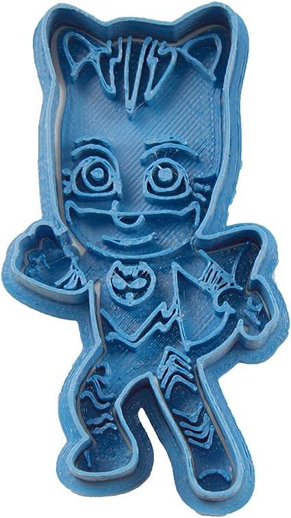 Cuticuter PJ Masks Catboy Entero Cortador de Galletas, Azul, 8x7x1.5 cm
