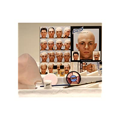Graftobian Complete Latex Bald Cap Kit with Instructions: Beauty