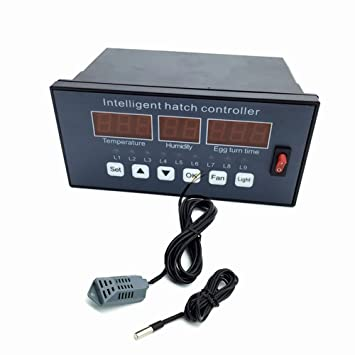 Huatuo®XM-16 Multifunción huevo incubadora sistema de control automática de temperatura y humedad