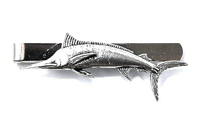Hoardersworld Marlin Peces Clip de Corbata (Slide) en Fine English ...
