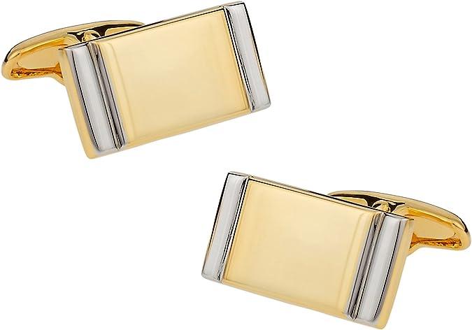 Colonial Silver Star Cufflinks with Presentation Box