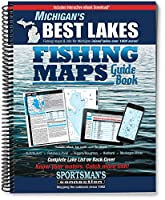 Michigan's Best Lakes Fishing Maps Guide Book