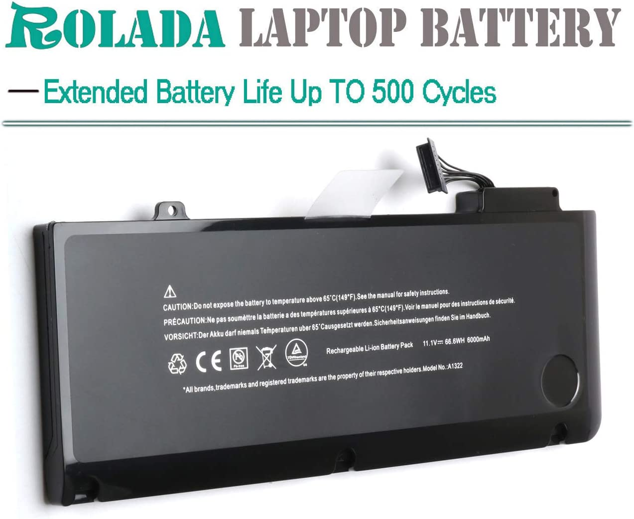 A1322 Laptop Battery for MacBook Pro 13 A1322 A1278 Mid 2009, Mid ...