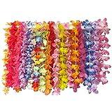 Noya Novelties Party Bag ~ Tropical Hawaiian Luau Lei Styles (36 ct) ~ Party Favors