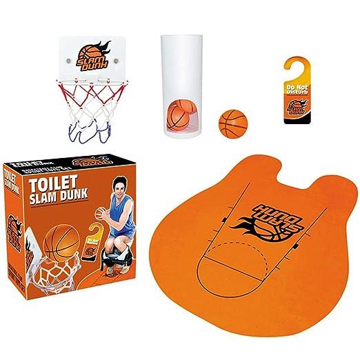 Makasy Baño Aseo Oficina Escritorio Mini Baloncesto Descomprimir Multi Juego Unisex Gadget Toy