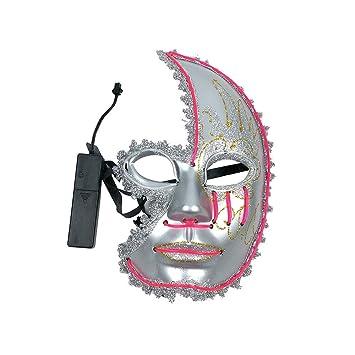 Halloween Hot Sale Ghost Mask!!! Fenebort LED Mask Funny