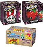 2 in 1 shop and cook playset - Shopkins Figure Pack Poppy Corn & Strawberry Kiss Funko Vinyl Collectible 2-Pack + Petkins Happy Places Blind Box Mini Figure with Tile surprise