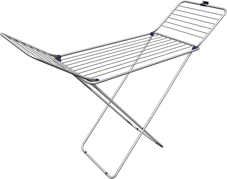 20 m de Longitud de tendido Gimi Tender Tendedero de pie de Aluminio y Acero