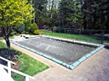 Robelle 20'X40' DURAGUARD PLATINUM Pool Cover with Water Bags