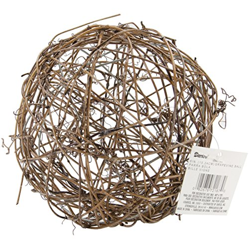Darice Grapevine Ball 6 Inches (4 Pack)