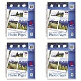Avery Mixed Format Photo Pages, Acid Free, Pack of 10 (13401), 4 Packs