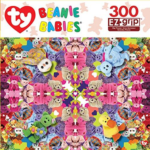MasterPieces Ty Jewel Kaleidoscope EZ Grip Jigsaw Puzzle, 300-Piece