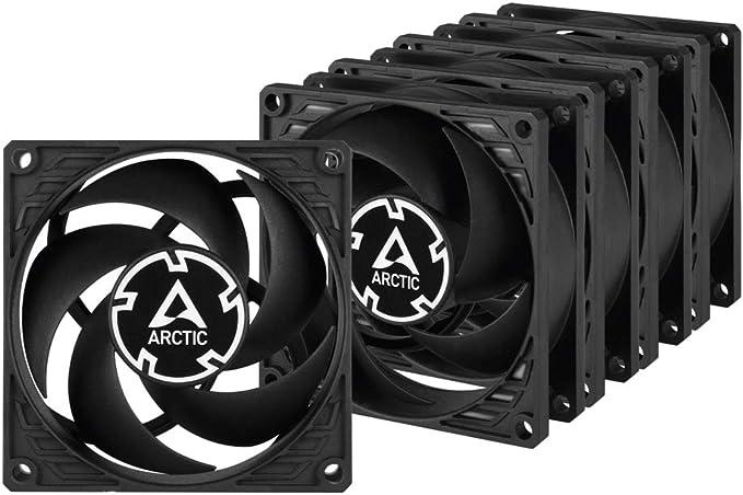 ARCTIC P8 PWM PST (5 piezas) – 80 mm Ventilador de Caja para CPU ...