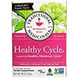 Traditional Medicinals, Healthy Cycle, Caffeine Free, 16 Tea Bags (pack of 3)