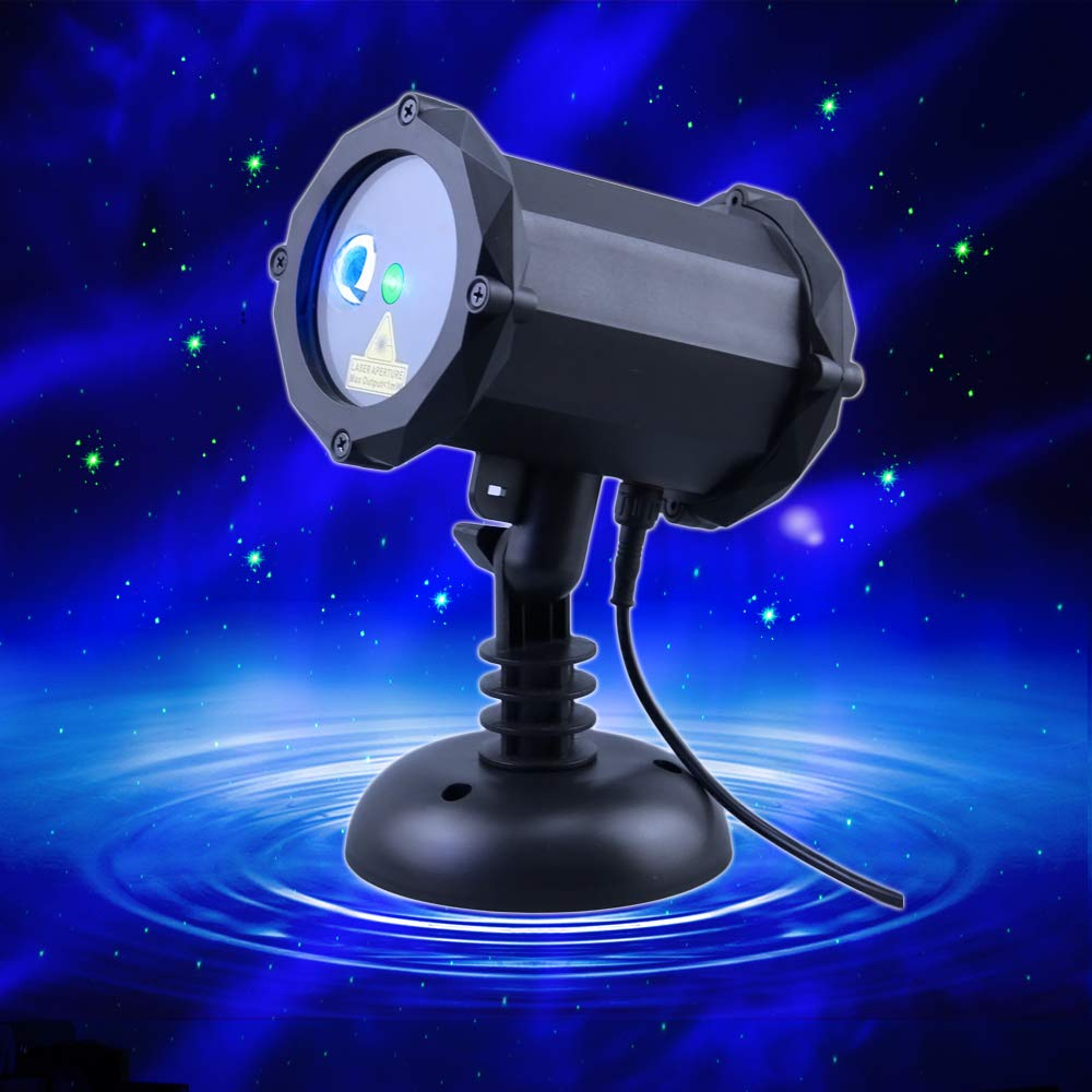 Poeland Star Laser Projector Light with LED Blue Nebula Starlight Suitable for Bedroom Decoration, Family Party, KTV, Dance Halls, Clubs, Bars, Kids Party, Dance Floor
