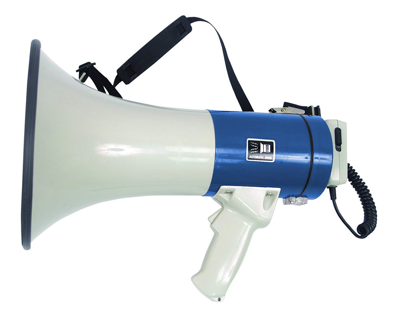 Megáfono Puissant portátil 25W con micrófono de pie EAGLE P637D
