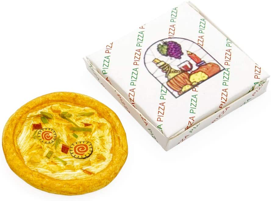 Odoria 1:12 Miniature Seafood Pizza Dollhouse Kitchen Accessories