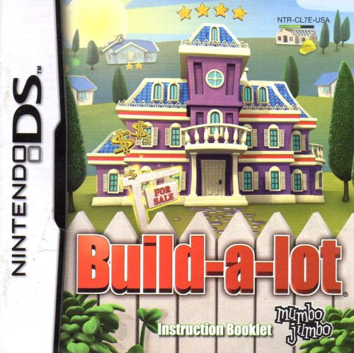 Build-a-lot DS Instruction Booklet (Nintendo DS Manual ONLY - NO GAME) Pamphlet - NO GAME INCLUDED from Nintendo