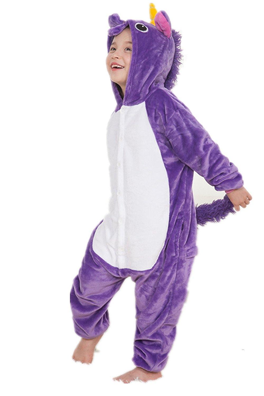 3278d1318663d Kenmont Déguisement Combinaison Licorne Pyjama Grenouillère Enfants ...