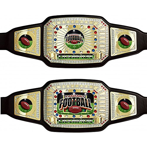 Fantasy Football Championship Award Belt by TrophyPartner by TrophyPartner