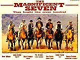 The-Magnificent-Seven-Denzel-And-Fuqua-To-Remake-Classic-The-Magnificent-Seven-1960 Movie Poster Legends Live Forever 12 X 18