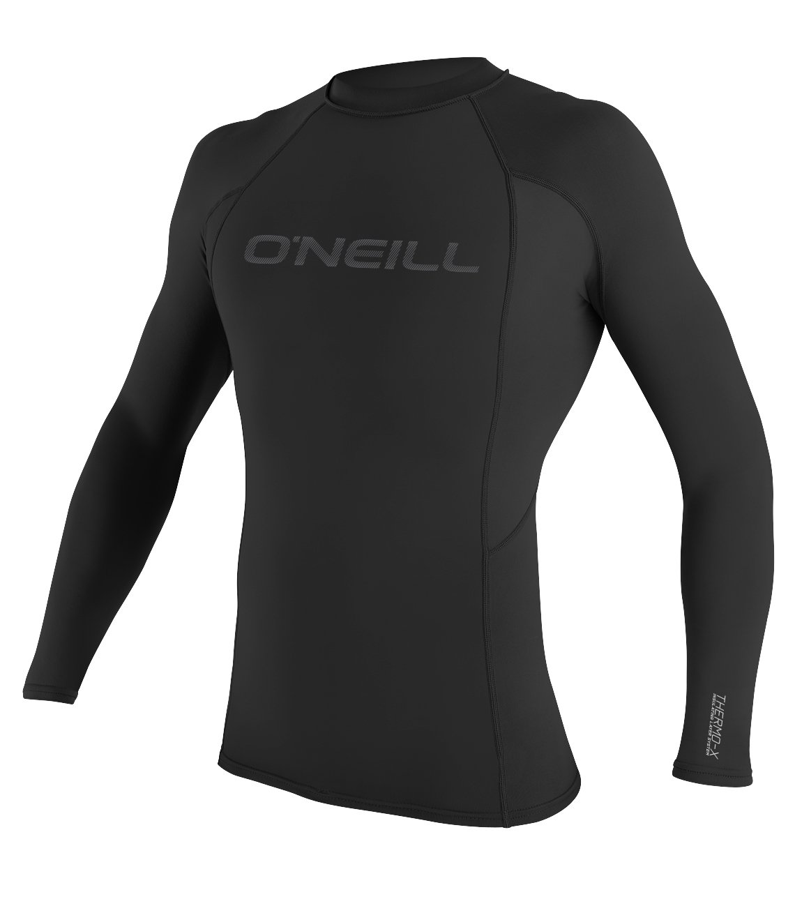 O'Neill Men's Thermo X Long Sleeve Insulative Top, Black, Small by O'Neill Wetsuits