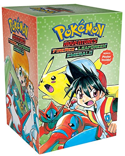 Fire Red & Leaf Green / Emerald Box Set: Includes Volumes 23-29 (Pokemon) (Leaf Boxed)