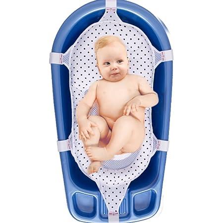 St/ütznetz f/ür die Badewanne Tabpole Baby-Badewannensitz mit Ringen. Schlinge und Dusche