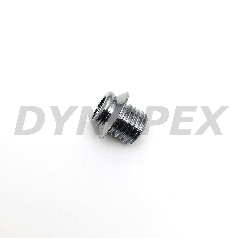 Fitting Reducer Metric M8x1 M8X1.0 Male to M6 M6X1 Female Thread Adapter 2 Units