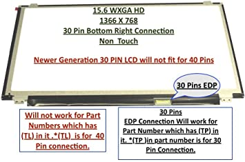 Samsung Ltn156at37-l01 Replacement LAPTOP LCD Screen 15.6 WXGA HD LED LTN156AT37