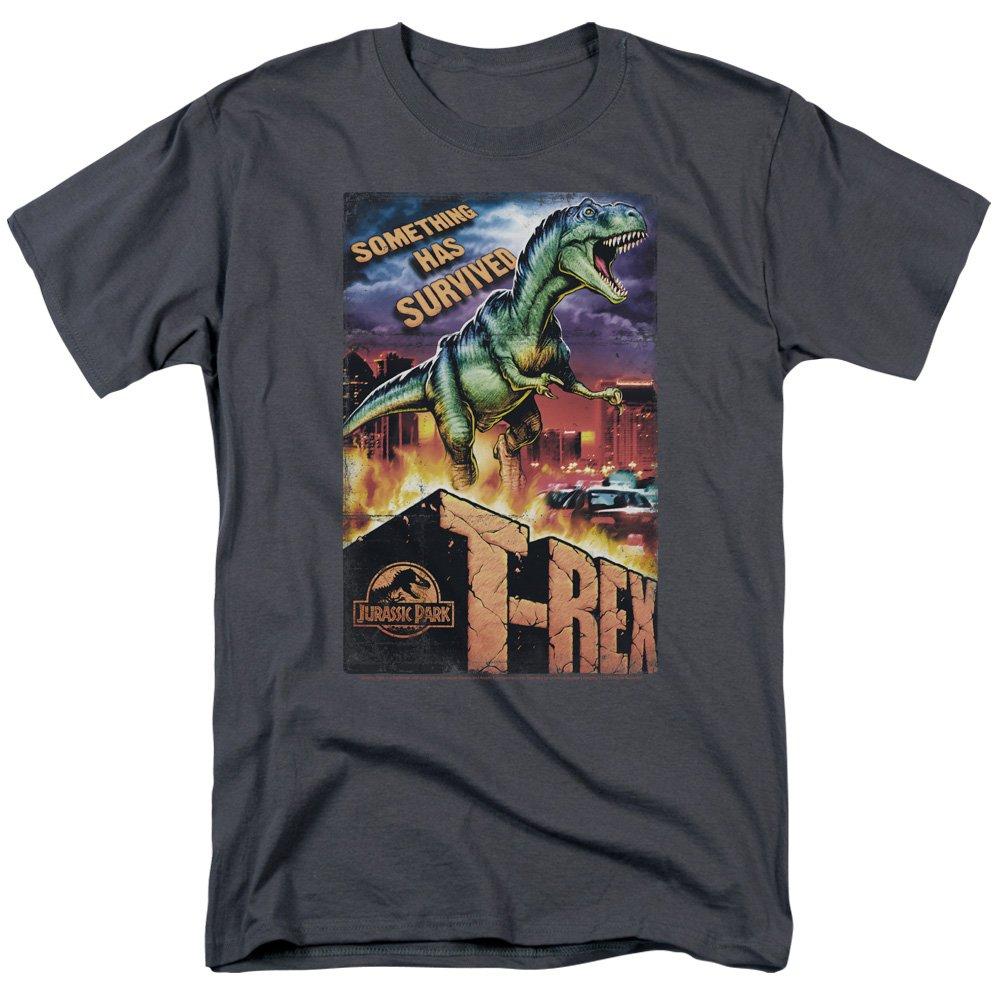 Trevco Mens Jurassic Park Short Sleeve T-Shirt