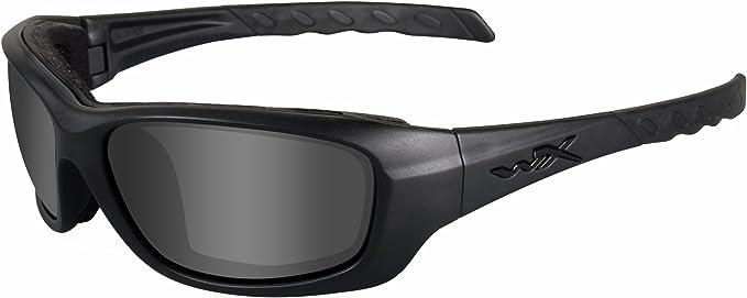 Wiley X CCGRA01 WX Gravity Collection Black Ops Lunettes de Protection Noir Mat ML